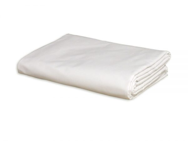 Single Flat Sheet (White)