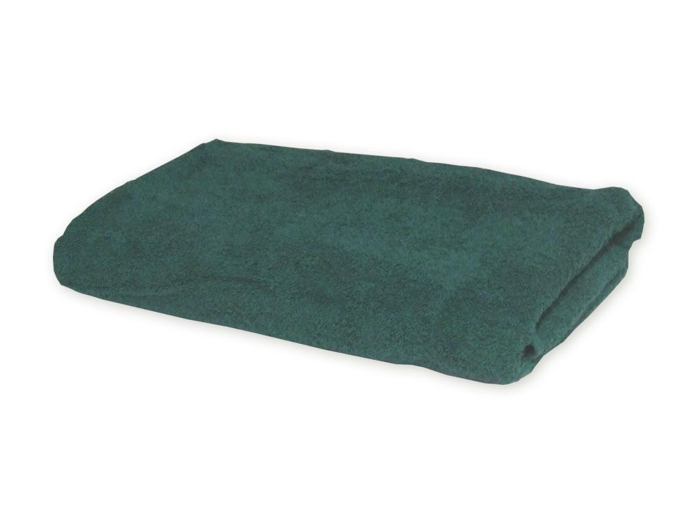 Dark Green Towels