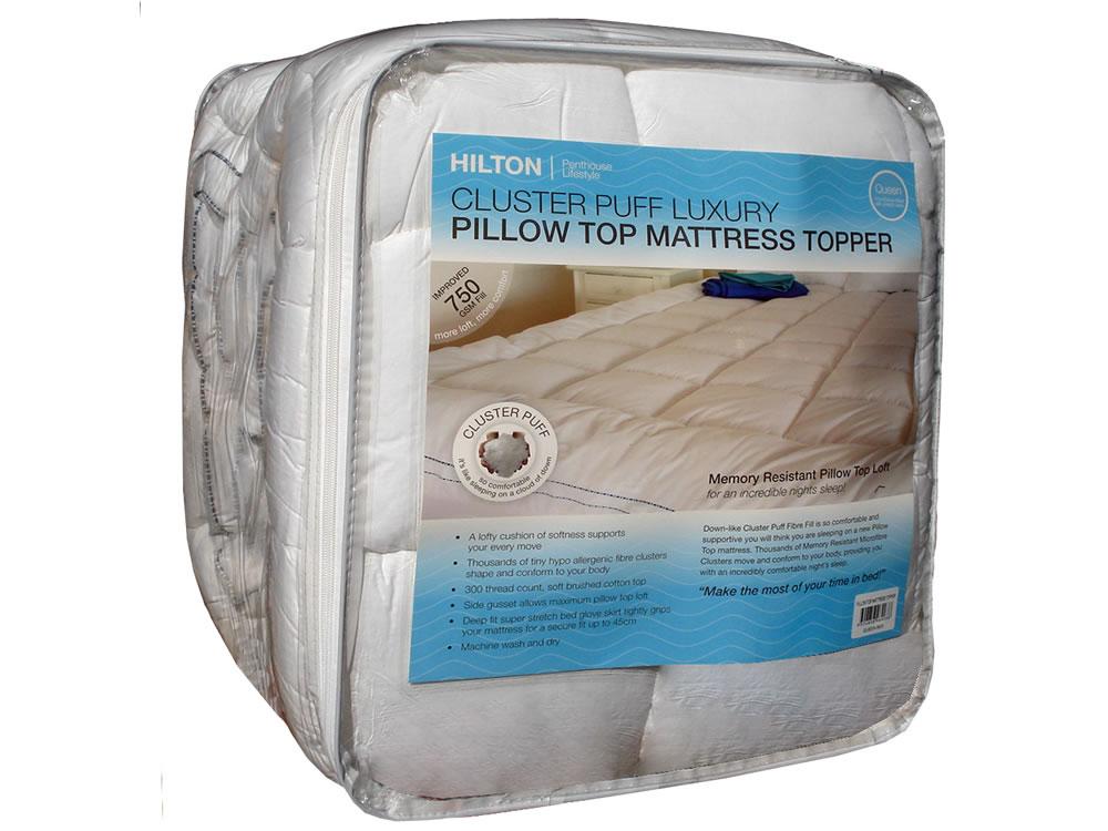 Hilton Pillow Top Mattress Topper