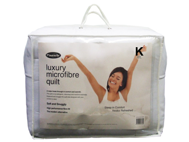 Pinnacle Microfibre Quilt – King