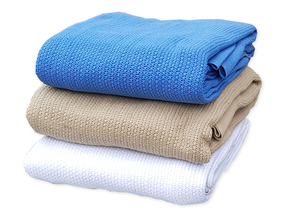 Cellular Cotton Blanket