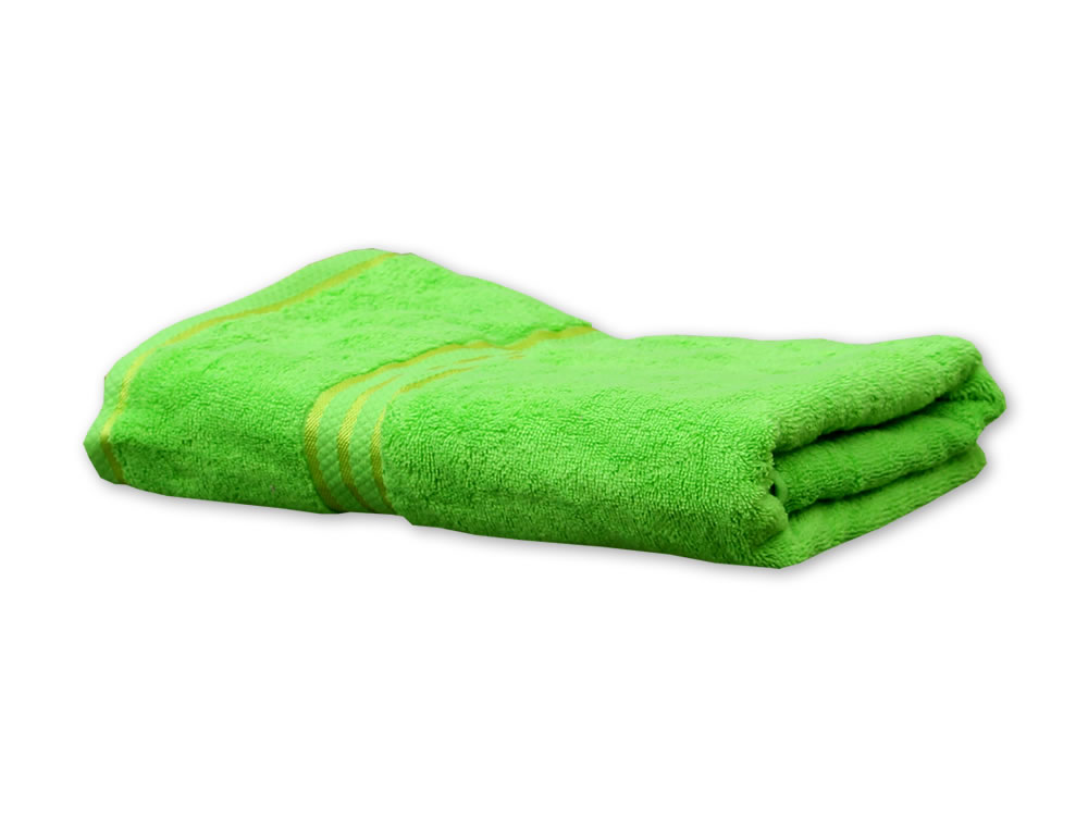 Lime Colour Towels