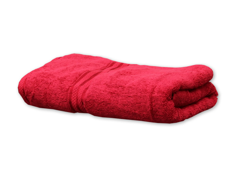 Cherry Colour Towels