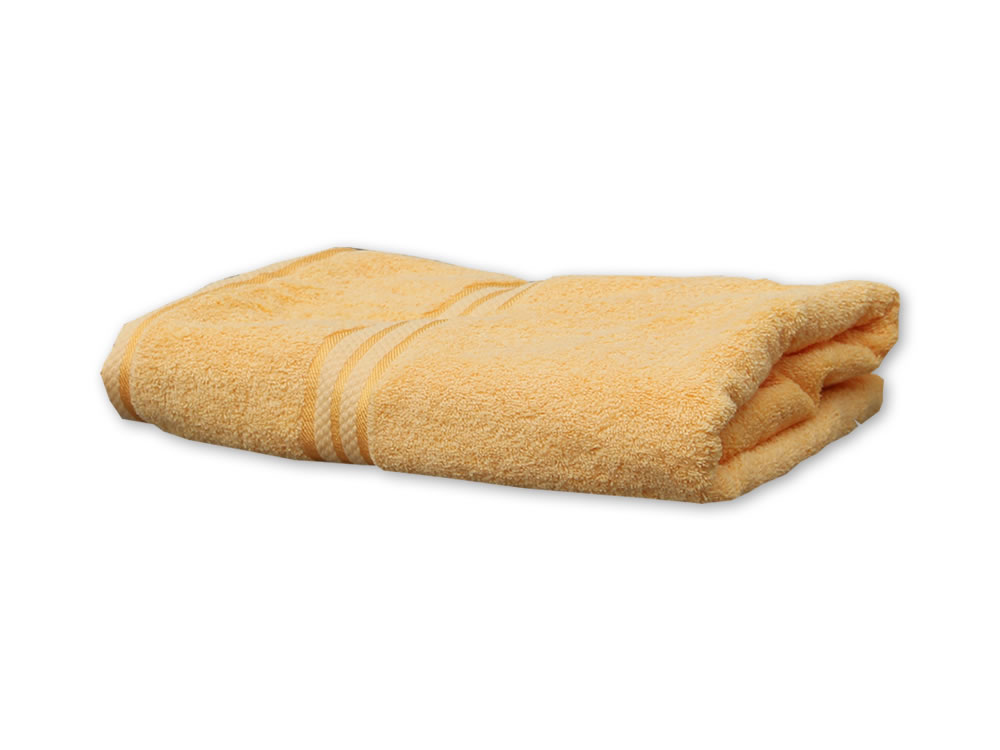 Yellow Colour Towels