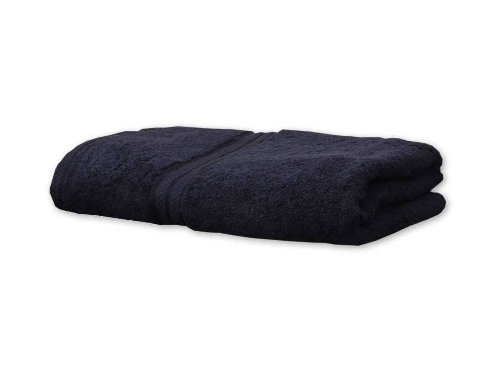 Black Colour Towels