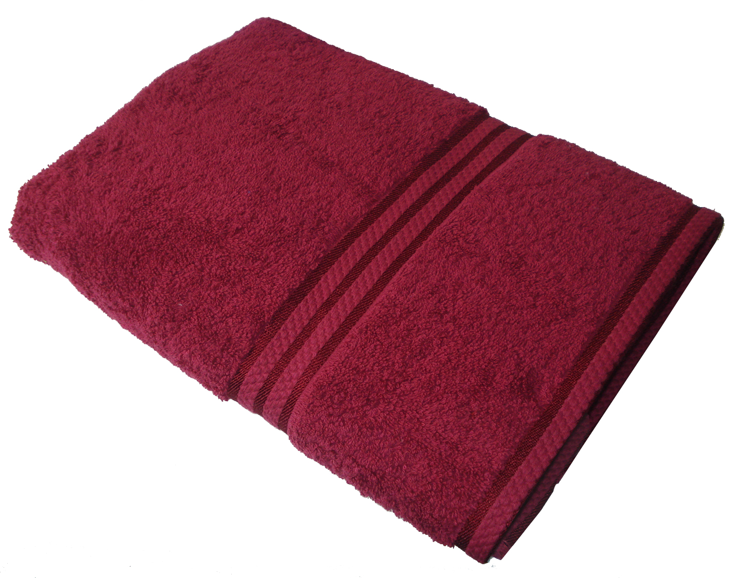 Garnet Couloured Towels